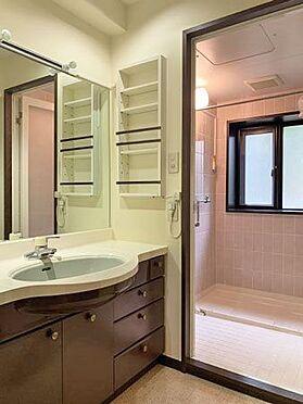 中古マンション-伊東市八幡野 ≪洗面・脱衣室≫ こちらも綺麗な状態です。