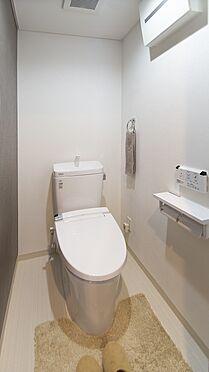 中古マンション-岡山市北区弓之町 トイレ 掲載中の家具等は販売価格に含まれません。