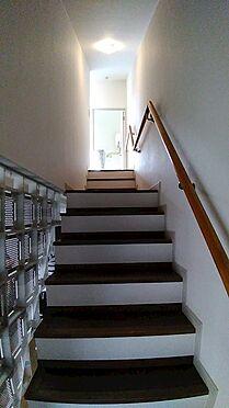 中古マンション-八王子市上柚木3丁目 リビングから階段で2階部分に。