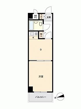 マンション(建物一部)-岡山市北区中山下2丁目 間取り