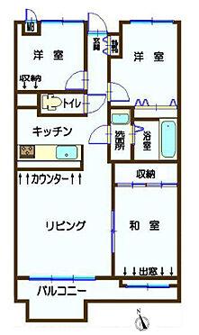 中古マンション-昭島市田中町4丁目 間取り