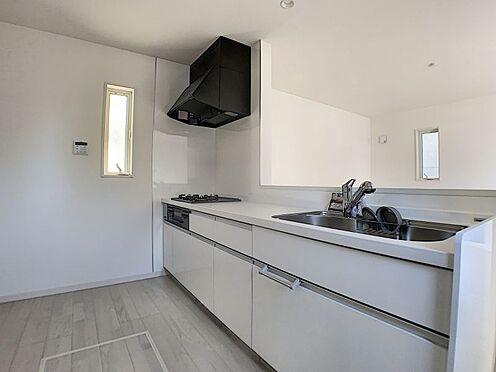 新築一戸建て-名古屋市守山区新守山 収納が充実したキッチン