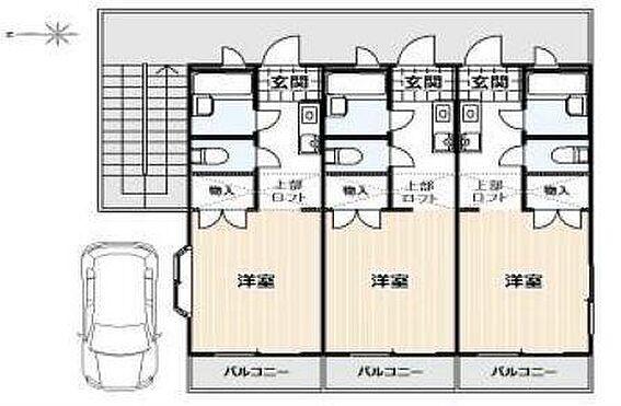マンション(建物全部)-野田市七光台 間取り