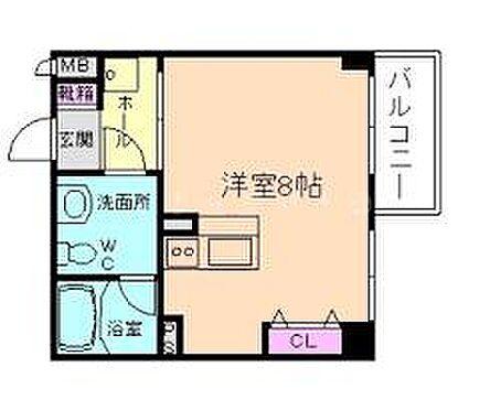 マンション(建物一部)-大阪市北区松ケ枝町 間取り