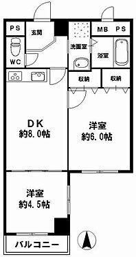 マンション(建物一部)-大阪市中央区島之内2丁目 間取り
