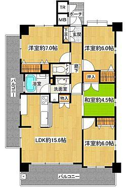 中古マンション-名古屋市緑区八つ松2丁目 角部屋で2面バルコニー付きです♪