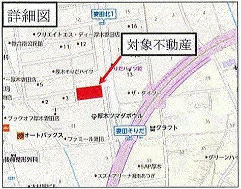 事務所(建物全部)-厚木市妻田北1丁目 地図