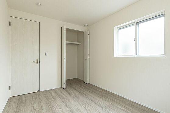 戸建賃貸-西尾市戸ケ崎3丁目 収納完備でお部屋を広く使用できます(同仕様)
