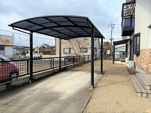中古一戸建て-江南市曽本町幼川添 南側にもカーポートございます。