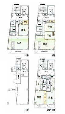 マンション(建物全部)-北区上十条 間取り