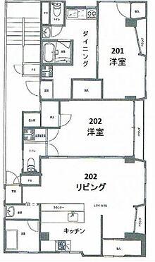 マンション(建物全部)-台東区竜泉2丁目 間取り