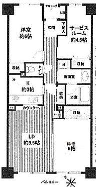中古マンション-さいたま市桜区西堀8丁目 間取り
