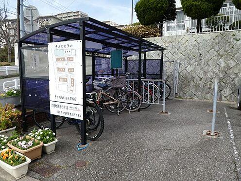 マンション(建物一部)-神戸市垂水区高丸8丁目 屋根付きの駐輪スペース
