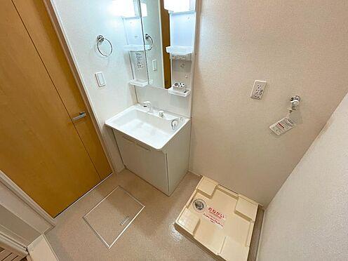 アパート-都城市都北町 洗面 室内洗濯機置場