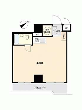 中古マンション-横浜市中区松影町2丁目 間取り