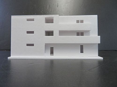アパート-名古屋市南区道徳新町1丁目 外観模型