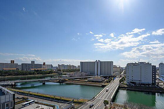 中古マンション-品川区東大井1丁目 バルコニーから南東方向の眺望になります。一面運河です。
