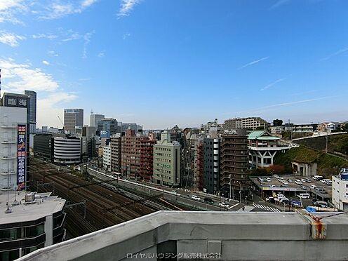 区分マンション-横浜市神奈川区青木町 マンション屋上からの眺望(横浜駅方面)