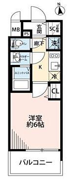 中古マンション-大阪市東成区東小橋1丁目 3階部分の南向きバルコニーに付き、陽当り良好な1Kです。浴室・トイレが別のセパレートで使い勝手良好です。