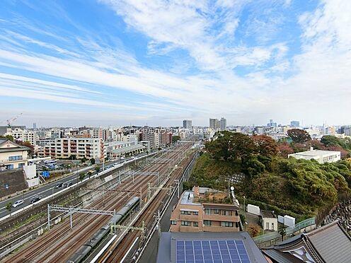 区分マンション-横浜市神奈川区青木町 マンション屋上からの眺望(東京方面)