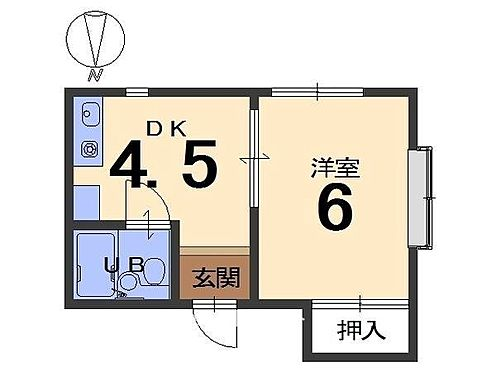 マンション(建物一部)-京都市中京区壬生坊城町 間取り