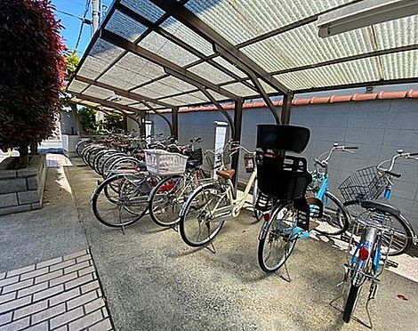 マンション(建物一部)-京都市伏見区深草下川原町 屋根付き駐輪場あり