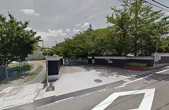 土地-名古屋市緑区桶狭間西 有松中学校 552m