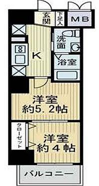 区分マンション-大阪市淀川区新北野1丁目 間取り