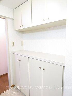 中古マンション-多摩市中沢2丁目 洗面室の棚