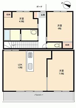 マンション(建物一部)-神戸市北区西大池2丁目 間取り