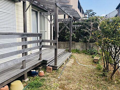 中古一戸建て-名古屋市名東区極楽2丁目 広々としたお庭でガーデニング等も可能です。