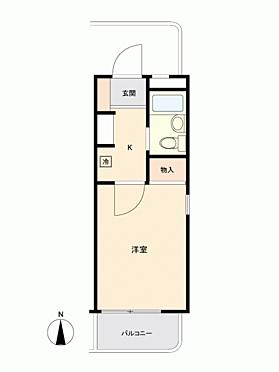 マンション(建物一部)-横浜市神奈川区六角橋4丁目 間取り