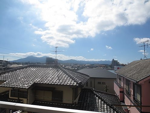 マンション(建物一部)-北九州市八幡西区千代ケ崎1丁目 バルコニーからの眺望。東南向きです。