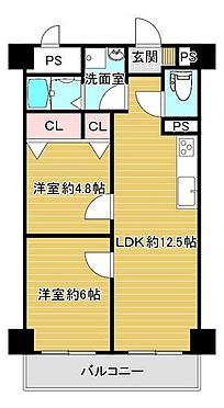 区分マンション-大阪市旭区大宮4丁目 図面より現況を優先します。