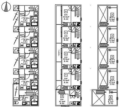 アパート-名古屋市南区豊1丁目 間取図 現況優先
