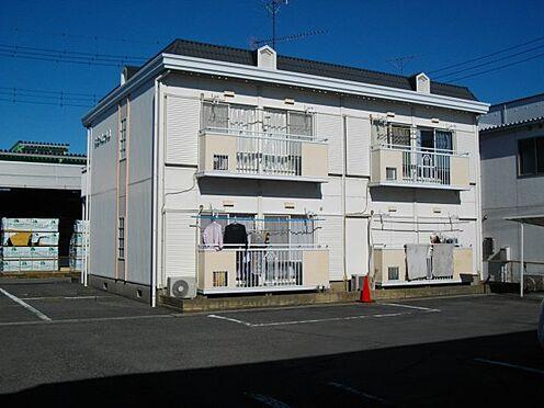 アパート-比企郡吉見町大字下細谷 B棟(南面)