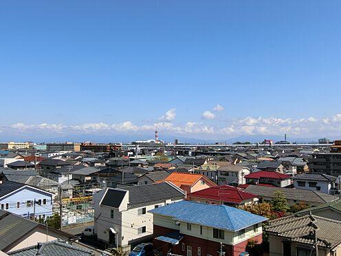 中古マンション-新潟市中央区南出来島2丁目 バルコニーからの眺望(南東方向を望む)