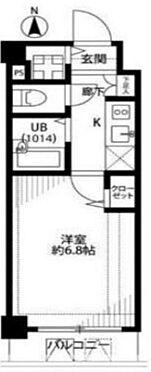 マンション(建物一部)-江東区平野2丁目 間取り