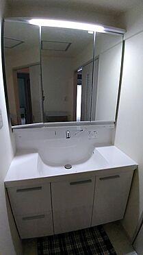 中古マンション-八王子市上柚木3丁目 洗面台も新規交換済みです。