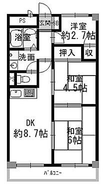 区分マンション-京都市山科区東野門口町 ファミリー向け3DK