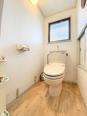 中古一戸建て-福岡市城南区茶山1丁目 ゆとりあるトイレです☆