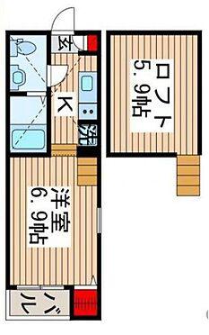 アパート-千葉市中央区今井1丁目 間取り