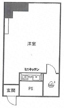 マンション(建物一部)-大阪市中央区北久宝寺町2丁目 ひろびろとした1Rの事務所