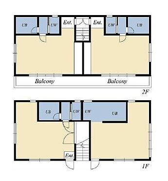 マンション(建物全部)-新宿区西落合 間取り