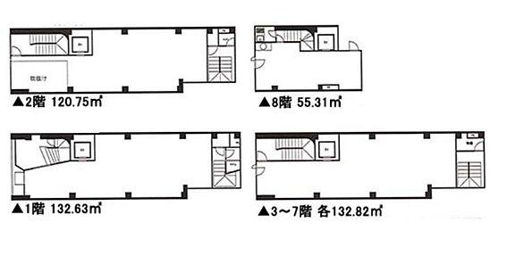 店舗事務所(建物全部)-中央区日本橋馬喰町1丁目 間取り