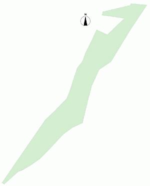 土地-上田市武石上本入 区画図