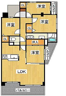 マンション(建物一部)-神戸市北区松が枝町1丁目 3点セパレートで清潔感あり。ペット飼育もOKです。