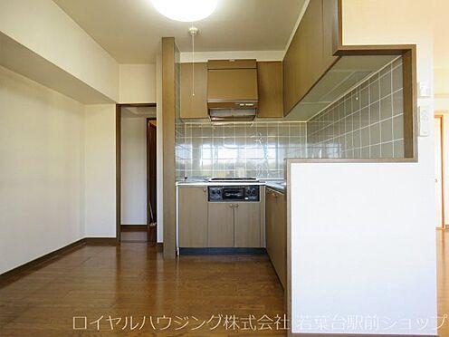 中古マンション-稲城市長峰3丁目 2WAY式のキッチン