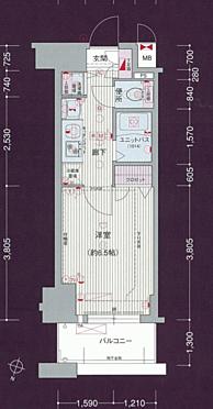 区分マンション-名古屋市中村区太閤通 間取り