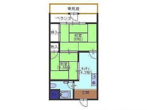 マンション(建物一部)-堺市西区浜寺元町3丁 嬉しい専用庭付き
